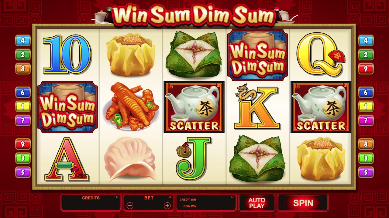 Win Sum Dim Sum – ein Slot, bei dem man richtig absahnen kann!