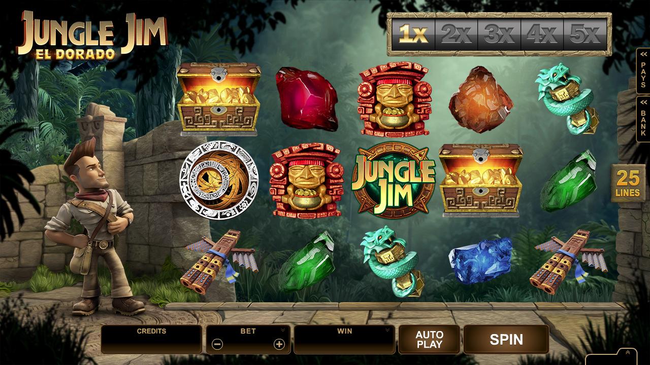 Jungle Jim Eldorado – gehen Sie im Dschungel auf Schatzsuche!